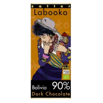 Zotter Labooko Bolivia, Dark Chocolate 90%